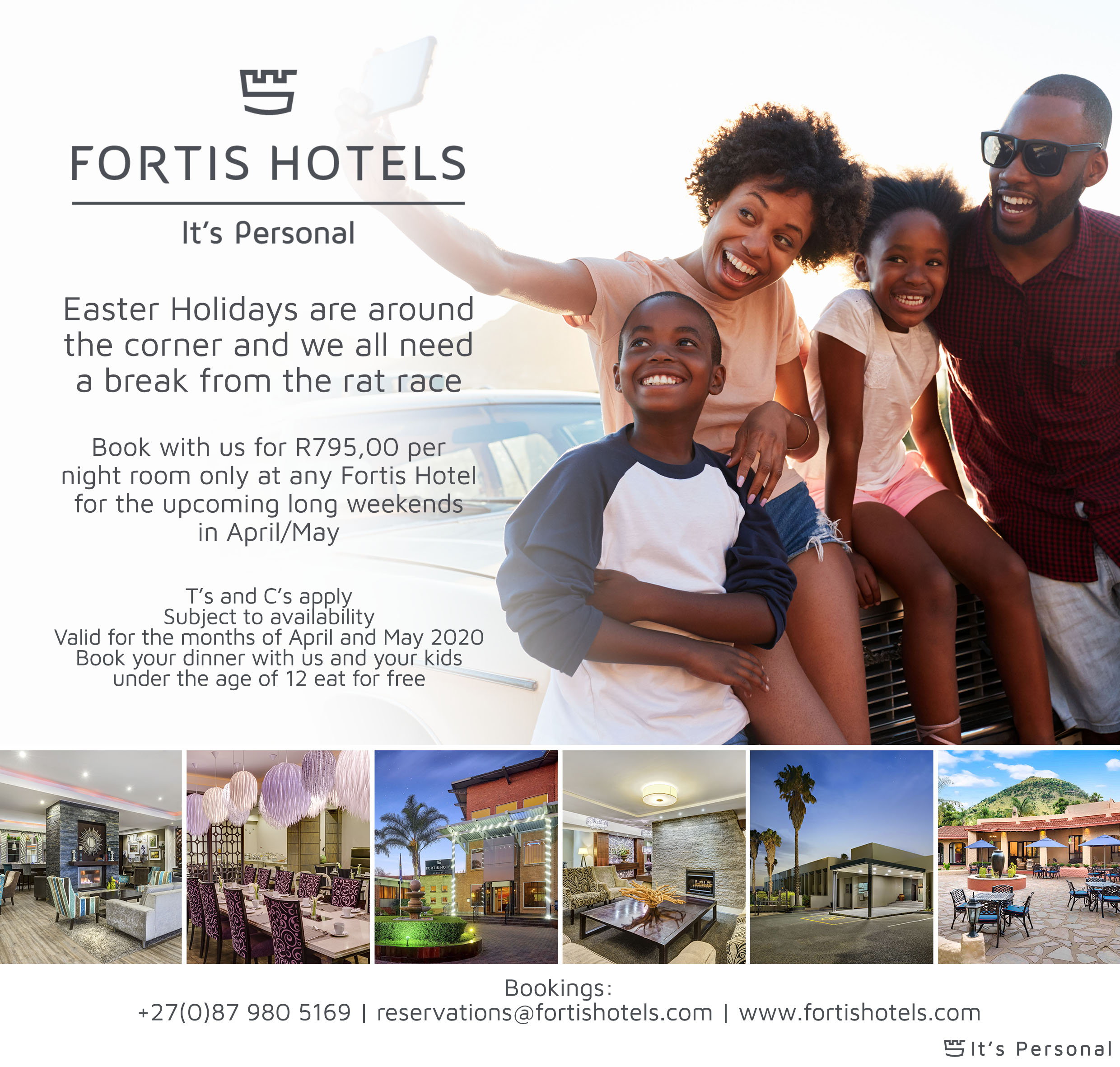 Fortis Hotels Easter 2020